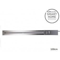 Sina Power Bar 3600W montaj aparent 100cm argintiu